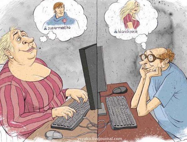мнения мужчин о виртуальных знакомствах