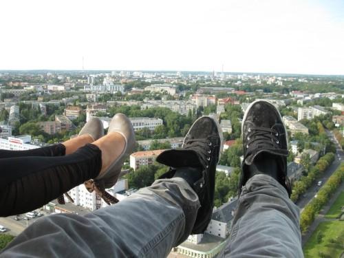 Первое свидание на крыше
